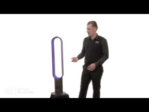 Dyson 40-inch AM02 Air Multiplier Blue Bladeless Tower Fan: Dyson at Abt Electronics