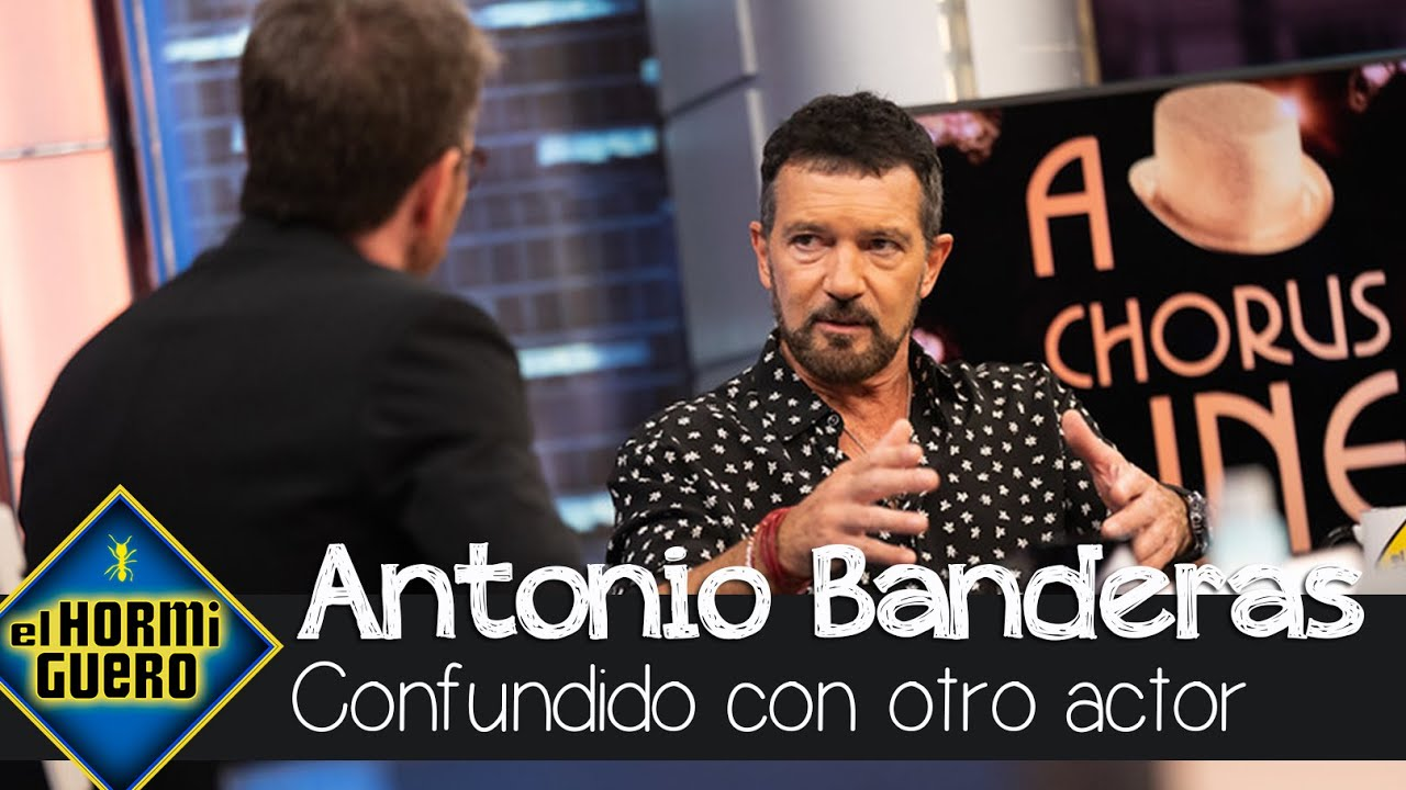 Antonio Banderas revela el actor con el que suelen confundirle - El Hormiguero