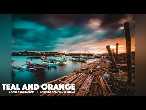 Teal and Orange with Adobe Camera Raw   Photoshop CC Tutorial