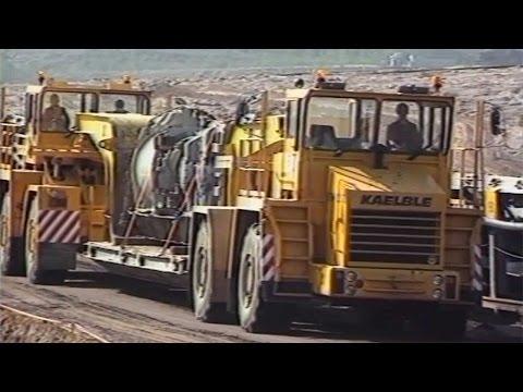 Kaelble's heavy machinery on the job | Technikforum Backnang