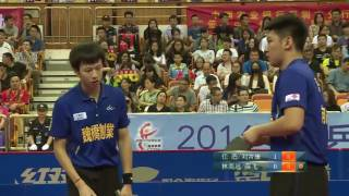 2016 China Super League: LIU Jikang / REN Hao vs LIN Gaoyuan / XUE Fei  [Full Match/Chinese|HD]