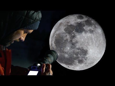 HOW TO PHOTOGRAPH THE MOON 📷  Jaworskyj