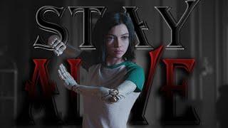 Alita Battle Angel    Stay Alive (Remake)