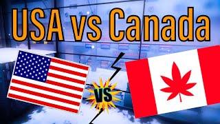 Team USA DOMINATES Canada! [NA Titans] | Critical Ops Tournament + VC