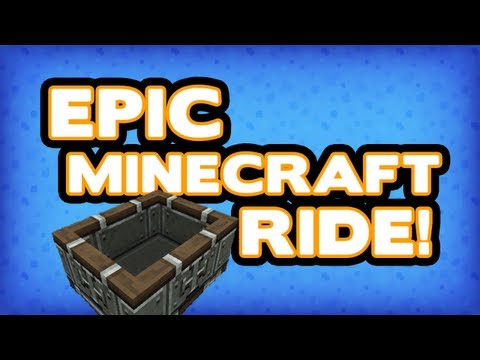 The Most EPIC Minecraft Ride Ever!!