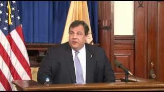 Governor Christie: Natural Disasters Don