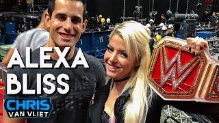 Alexa Bliss on her dream match, Triple H, Trish Stratus, Ronda Rousey, Buddy Murphy