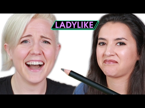Thumbnail: Women Taste Edible Makeup • Ladylike
