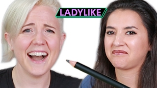 Women Taste Edible Makeup • Ladylike