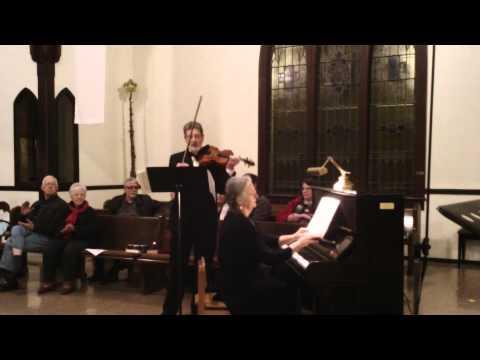 C.P.E. Bach Violin Sonata in g minor, BWV 1020