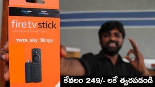 Tatasky Binge Unboxing & Initial Setup,With Details || In Telugu ||