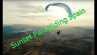 Paragliding El Bosque, Spain