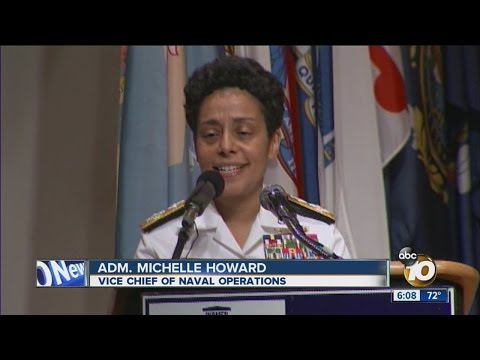 US Navy Swears In First Female 4-star Admiral
