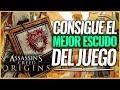 Assassin's Creed Origins   Cómo conseguir El MEJOR ESCUDO LEGENDARIO COMPENDIO del JUEGO