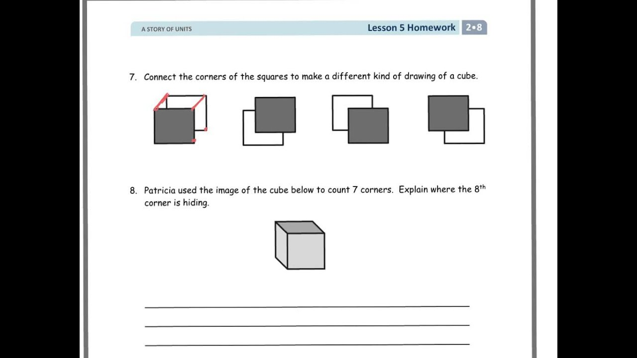hight resolution of Relate Square and Cube (solutions