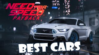 [Need For Speed Payback] BEST CARS in Payback | TOP 5 Best Car | DRAG, DRIFT, OFFROAD, RUNNER, RACER