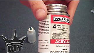 HOW TO: glue acrylic (welding)