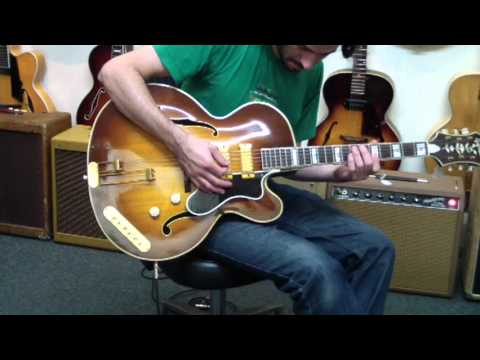 Tones on the electric Epiphone Emperor- Lark Street Music Demo