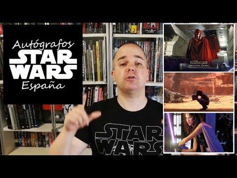 Coleccionando Autografos de Star Wars
