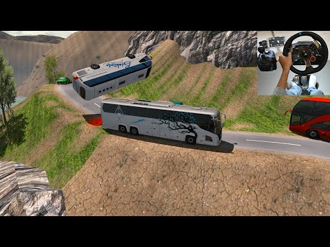 Crazy Bus Driver On Road | Euro Truck Simulator 2 With Bus Mod | Indian Bus Driver