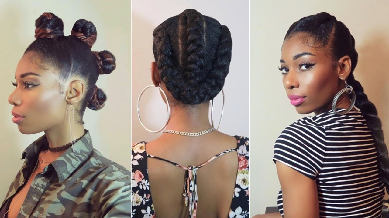 29 NATURAL HAIRSTYLES PICS USING BRAID HAIR  ALL YOUR OWN  YouTube