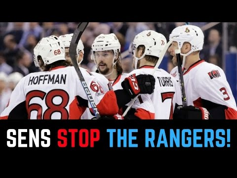 Ottawa Senators vs New York Rangers Game 6 2017 Recap | Sens Advance to the East Finals!
