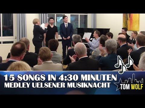 15 Songs in 4:30 Minuten| Tom Wolf & Rami Jarabanda