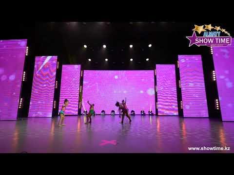 """Гаухар - Мы маленькие звёзды   Танцевальный конкурс """"Show Time Almaty""""   осень 2019"""