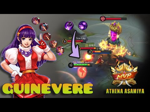 Guinevere Top 1 Global Best Build | GAMEPLAY BY Athena Asamiya - Mobile Legends