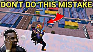 Dont Do This Mistake In PUBG Mobile - 19 Kills Solo VS Squad Gameplay