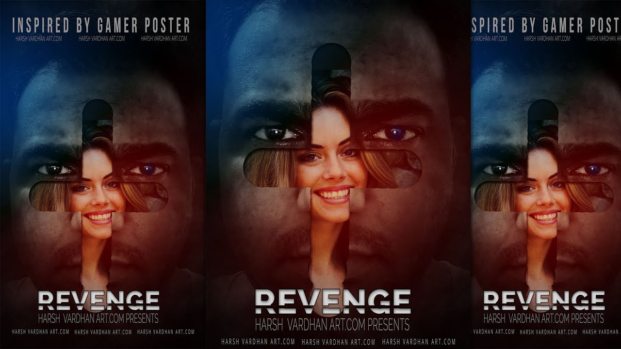 Make a movie poster with photoshop