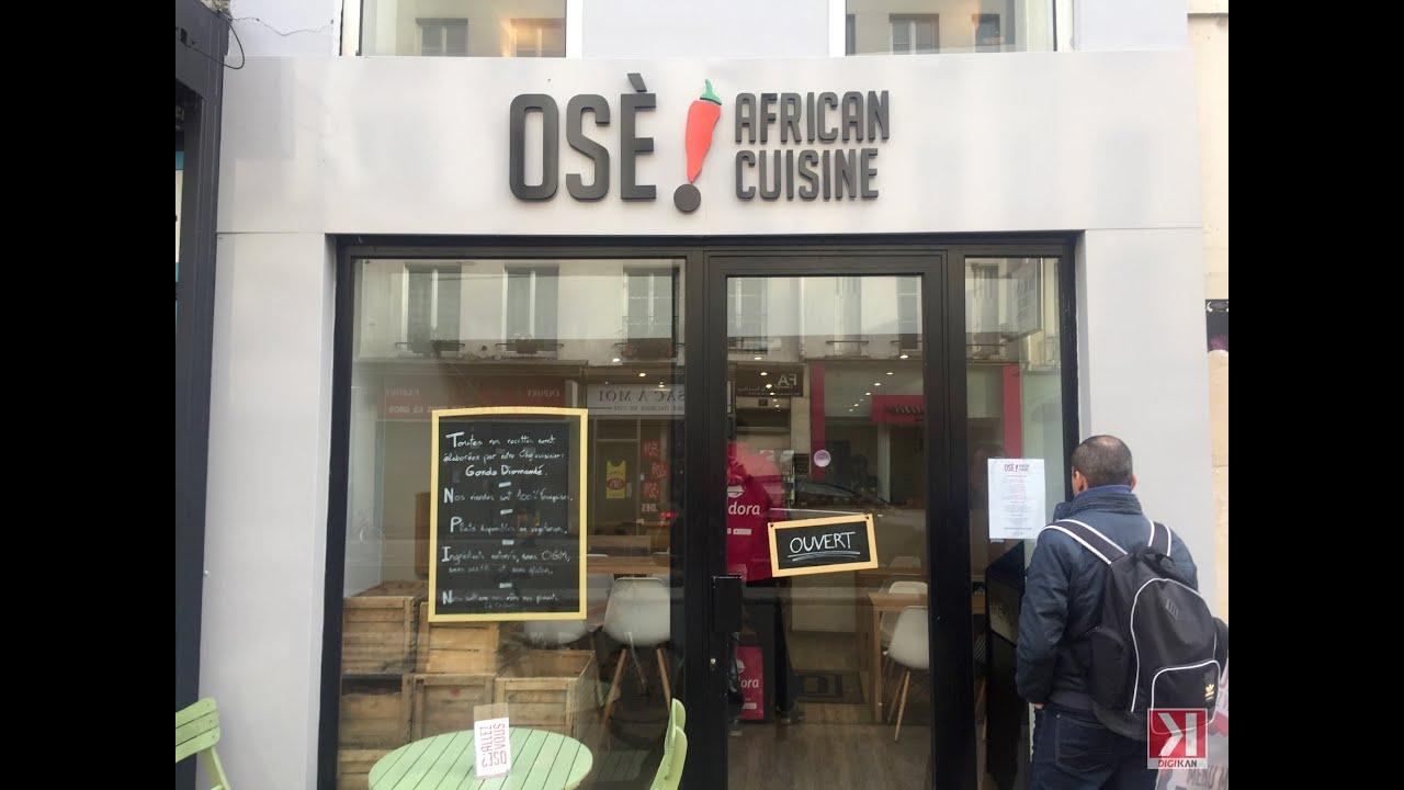 Ose African Cuisine Paris