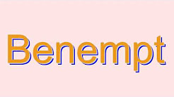 How to Pronounce Benempt