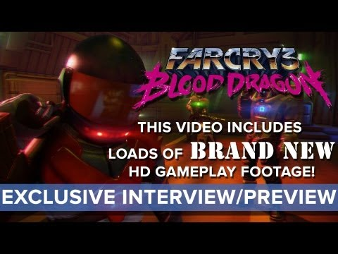 Far Cry 3: Blood Dragon - EXCLUSIVE Interview and Preview - Eurogamer