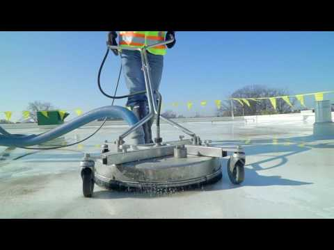 Tremco S Rooftec Roof Cleaning System Youtube