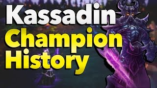 Kassadin: From Beta to Season 6 - League of Legends