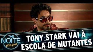 The Noite (22/07/16) - Tony Stark vai à Escola de Mutantes