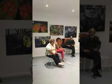 Lenço De Seda Sim As Diferenças. Exposition Et Présentation à Paris France 2018 - 1/2