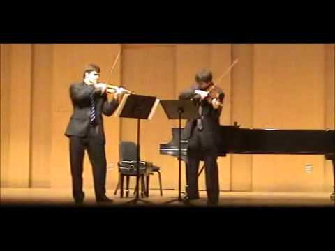 Ysaÿe - Sonata for two violins (complete) - Filip Fenrych/Nathan Olson
