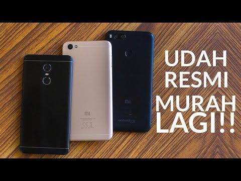 5 HP Xiaomi Di 2018 Mulai 1 Jutaan Dan Garansi Resmi!