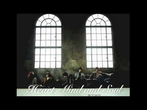 TVXQ- HEART MIND AND SOUL ׂ(FULL AUDIO)