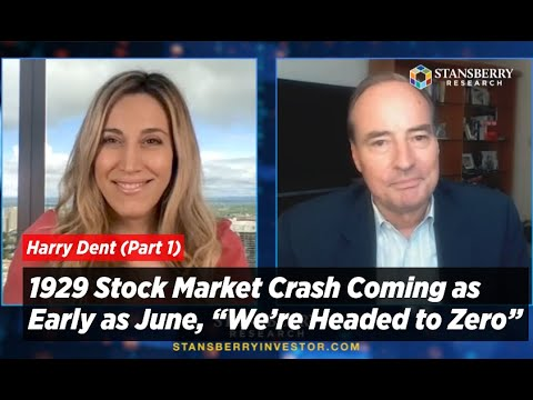 "Harry Dent: 1929 Stock Market Crash Coming As Early As June, ""We're Headed To Zero"""