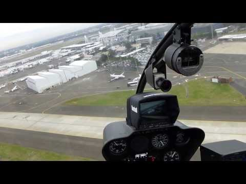 Flight Over Sydney, Australia, In R-44 From Blue Sky Helicopters. Part 1