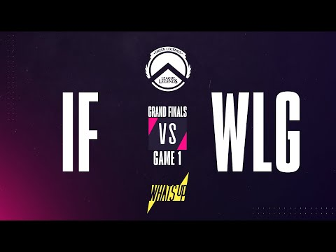 IF v WLG | Greek Legends Spring 2020 Powered by Whats Up | Playoffs Grand Finals | Game 1