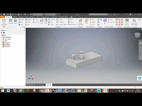 Autodesk Inventor 2017 News - Extrude select multiple closed profiles