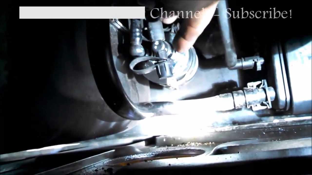 Fuel filter replacement Chevrolet Trailblazer 2004 Chevy