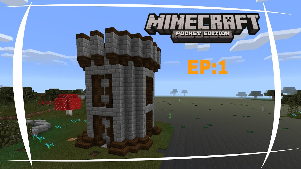 Minecraft tutorial come costruire una torre youtube for Come costruire una torre di fuoco