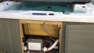 NATURAL GAS Hot Tub conversion how to part 1