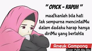 Download Opick - Rapuh (cover)