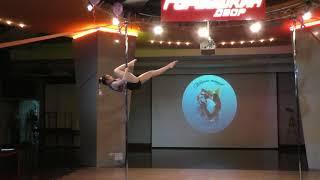 Надежда Баронова - Catwalk Dance Fest IX[pole dance, aerial]  12.05.18.